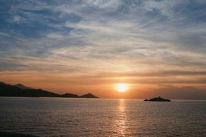 Vedere din Insula d'Elba